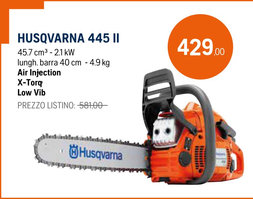 Motosega Husqvarna 445