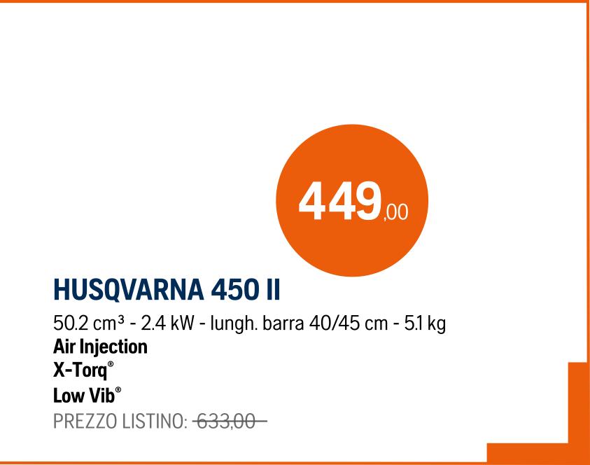 Motosega Husqvarna 450